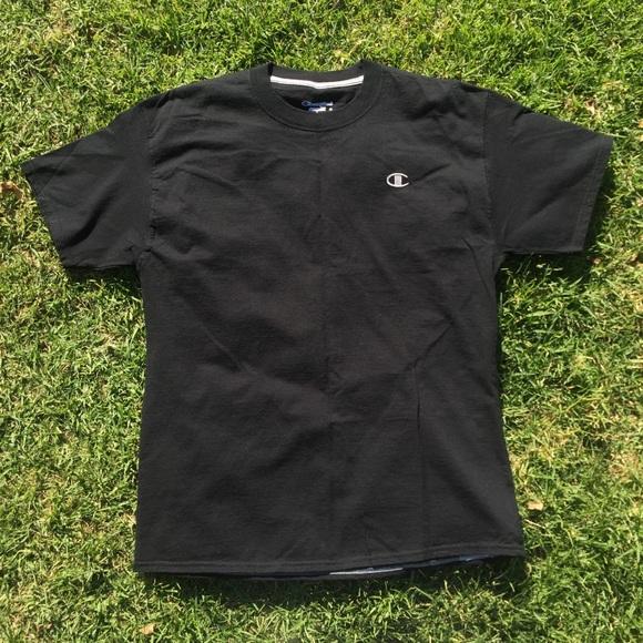 ab2db1be4 Champion Shirts | Sold On Depop Black Tshirt | Poshmark